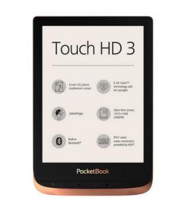 Pocketbook touch hd3 ereader 6pulgadas 16gb cobre