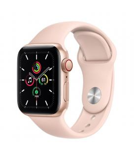 Apple watch se 40mm gps cellular caja oro con correa rosa arena sport band - myeh2ty/a
