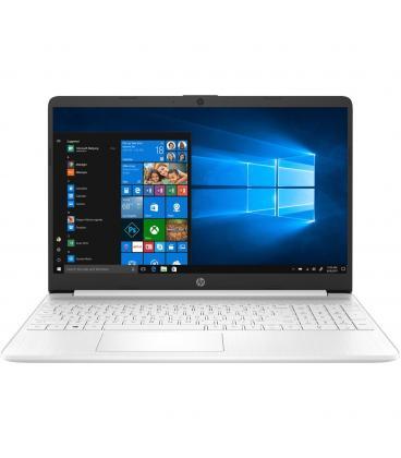 """PORTATIL HP 15S-FQ1005NS I7-1065G7 15.6"""" 8GB SSD256GB WIFI BT W10 BLANCO - 8AX83EA"""