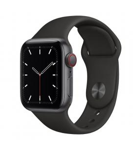 Apple watch se 40mm gps cellular caja aluminio gris espacial con correa negra sport band - myek2ty/a