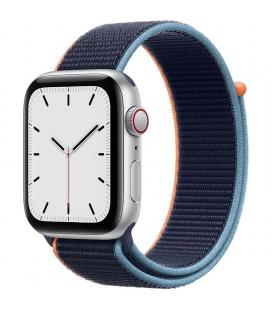 Apple watch se 44mm gps cellular caja aluminio con correa azul marino sport loop - myew2ty/a