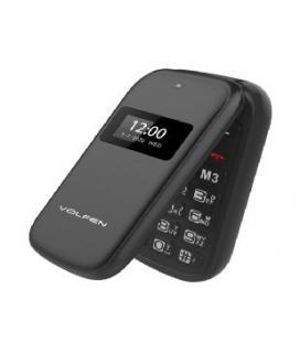 Telefono volfen flip dual doble pantalla - dual sim - pantalla 2.4pulgadas