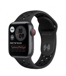 Apple watch se 40mm gps cellular nike caja aluminio gris espacial con correa antracita y negra nike