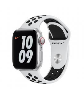 Apple watch se 40mm gps cellular nike caja aluminio con correa platino y negra sport band - myyw2ty/a