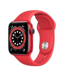 Apple watch s6 44mm gps caja aluminio roja con correa roja sport band - m00m3ty/a