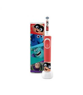 Cepillo dental electrico oral - b d100 kids pixar cabezal extra soft - temporizador - estuche viaje