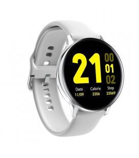 Reloj inteligente innjoo lady eqis r silver - pantalla 3.5cm - bt 4.0 - notificaciones - ritmo cardiaco - ip68 - bat 230mah