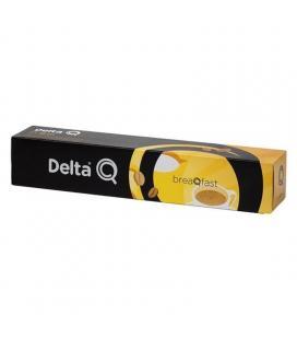 Cápsula delta breaqfast para cafeteras delta/ caja de 10