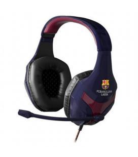 Auriculares gaming con micrófono mars gaming mhbc/ azul y rojo