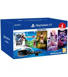 MEGA PACK SONY PLAYSTATION VR - GAFAS VR - PS CAMARA - ASTRO BOT RESCUE MISSION - EVERYBODYS GOLF VR - MOSS - BLOOD AND TRUTH -