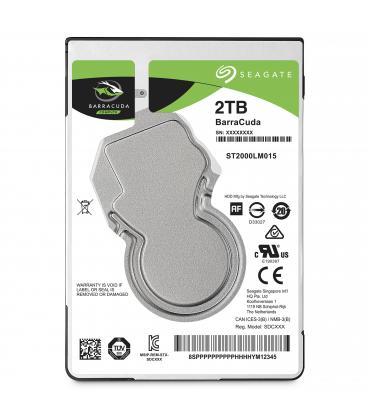 "DISCO DURO INTERNO HDD SEAGATE ST2000LM015 2 TB 2.5"" SATA 7mm  5400RPM  BUFFER 128MB - Imagen 1"