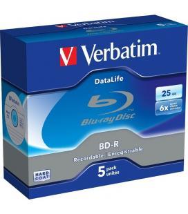 Blu-ray bd-r verbatim b01gvz6lk0 6x/ caja-5uds