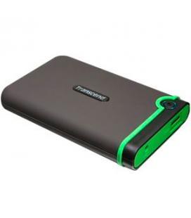 "DISCO DURO EXTERNO HDD TRANSCEND CARCASA ANTIGOLPES 1TB/ 2.5""/ USB 2.0 Y 3.0 5400RPM/ TS1TSJ25M3 - Imagen 1"