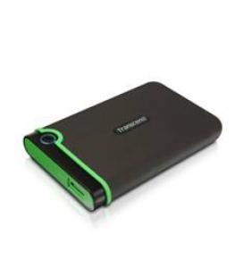 "DISCO DURO EXTERNO HDD TRANSCEND CARCASA ANTIGOLPES 2TB/ 2.5""/ USB 2.0 Y 3.0 5400RPM/ TS2TSJ25M3 - Imagen 1"