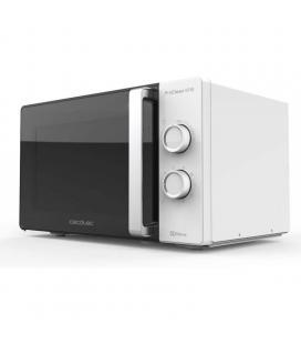 Microondas cecotec proclean 4110/ 700w/ capacidad 23l/ función grill/ blanco negro