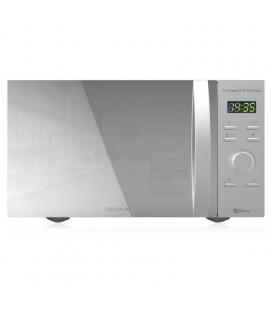 Microondas cecotec proclean 8110/ 1000w/ capacidad 28l/ función grill/ gris