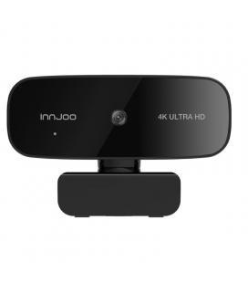 Webcam innjoo 4k/ enfoque automático/ 3840 x 2160 4k uhd