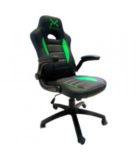 Silla gaming droxio troun value/ negra y verde