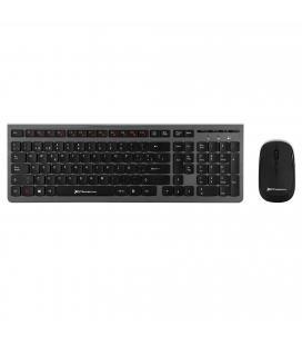 Combo inalambrico teclado multimedia y raton phoenix receptor usb 2.4ghz wireless raton 1000dpi diseño ultra delgado