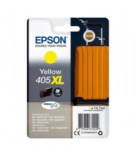 Cartucho de tinta original epson nº405 xl alta capacidad/ amarillo - Imagen 1