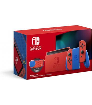 Nintendo Switch edición Mario   rojo y azul