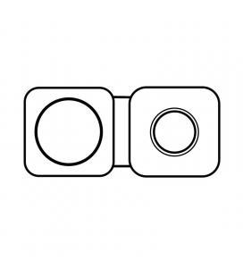 Cargador inalámbrico doble apple magsafe mhxf3zm/a/ para iphone y apple watch/ compatible según especificaciones - Imagen 1