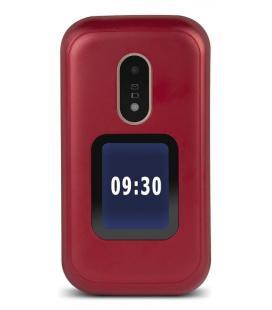 """TELEFONO MOVIL SENIOR DORO 6060 2,8"""" ROJO T3MPX"""