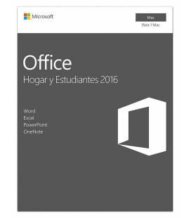 Microsoft Office 2016 Hogar y Estudiantes para MAC - Imagen 1