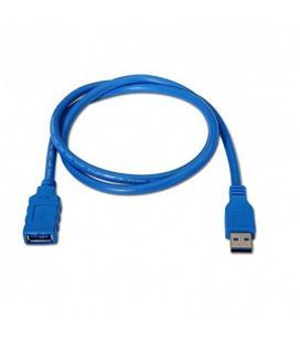 Cable alargador usb 3.0 nanocable 10.01.0901 azul - conectores a-macho a-hembra - 1m