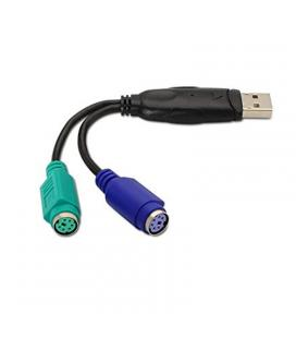 CABLE CONVERSOR DE PS/2 (TECLADO Y RATON) A USB 2.0 NANOCABLE 10.03.0101
