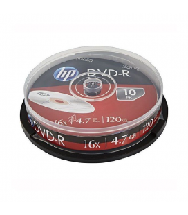 Dvd+r hp dre00027-3 16x/ tarrina-10uds