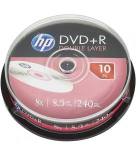 Dvd+r hp dre00060-3 dl 8x/ tarrina-10uds