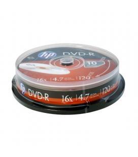 Dvd-r hp dme00026-3 16x/ tarrina-10uds