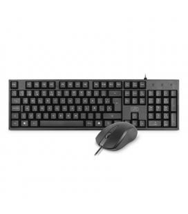 1LIFE Kit Teclado+ratón BASE KIT USB SLIM 1000dpi