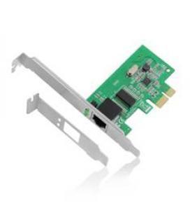 Adaptador de red pci - e eminent 10 - 100 - 1000 mbps soporte de perfil bajo incluido