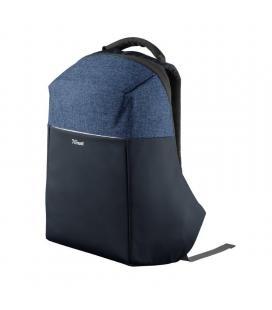 Mochila trust nox anti-theft backpack para portátiles hasta 16'/ antirrobo/ azul