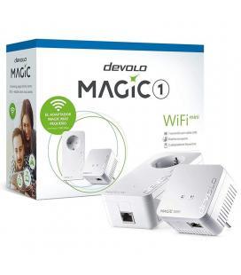 Adaptador powerline devolo magic 1 wifi mini/ 1200mbps/ alcance 400m/ pack de 2 - Imagen 1