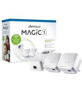 Adaptador powerline devolo magic 1 wifi mini 1200mbps/ alcance 400m/ pack de 3 - Imagen 1