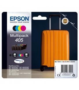 Cartucho de tinta original epson nº405 multipack/ negro/ cian/ amarillo/ magenta - Imagen 1