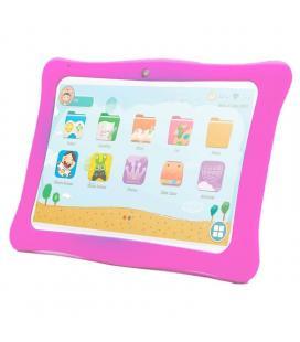 Tablet para niños innjoo k102 10'/ 1gb/ 16gb/ blanca y rosa
