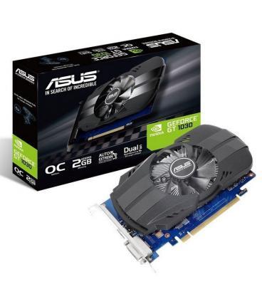 Tarjeta Gráfica Asus GeForce GT 1030 OC/ 2GB GDDR5