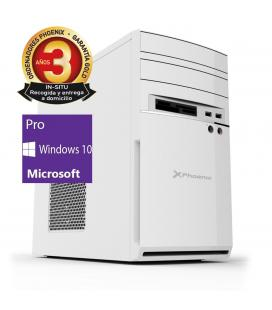Ordenador pc phoenix moon amd ryzen 3 pro 8gb ddr4 480gb ssd rw micro atx sobremesa wifi windows 10 pro - Imagen 1