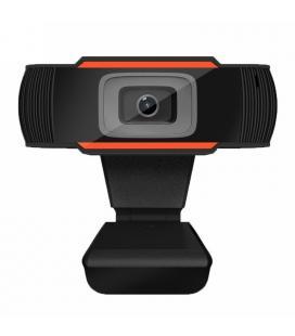 Webcam FHD 1080P / Micrófono /USB/ JACK NegroL-LINK