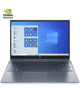 "HP 15-EG0001NS I7-1165G7 15.6"" 8GB SSD512GB GF MX450 2GB WIFI BT W10 AZUL NIEBLA"