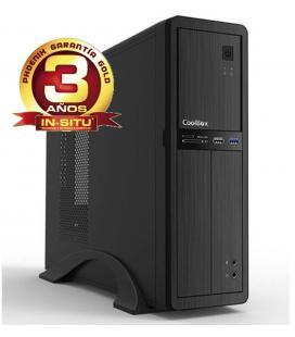 Ordenador de oficina phoenix oberon pro intel core i5 10º gen 8gb ddr4 480 gb ssd rw micro atx slim pc sobremesa