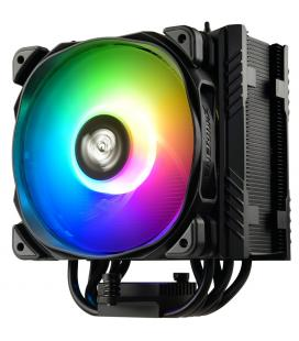 Ventilador disipador gaming enermax ets - t50a - bk - argb para intel amd argb 1x12cm
