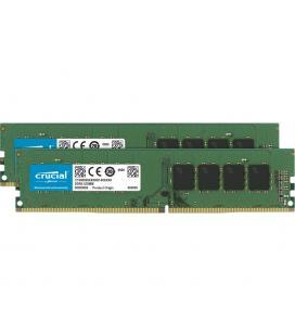 Memoria ddr4 64gb 2x32gb crucial - udimm - 3200 mhz - pc4 25600 - cl22 - Imagen 1