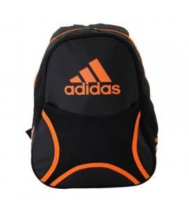 Mochila adidas backpack club/ negra y naranja - Imagen 1