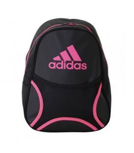 Mochila adidas backpack club/ negra y fucsia - Imagen 1