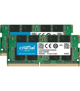 Memoria ddr4 16gb 2x8gb crucial - sodimm - 2666 mhz - pc4 21300 - cl19 - Imagen 1